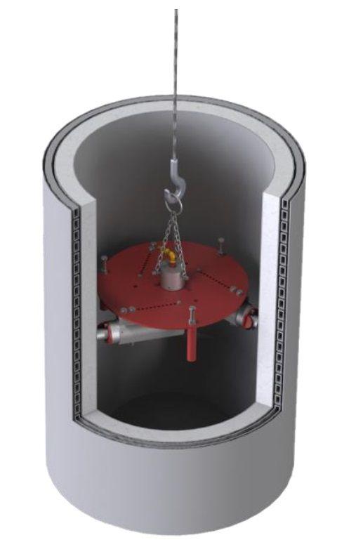 Принцип работы трамбовок для уплотнения футеровки
